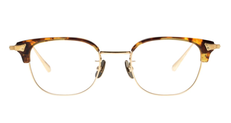 Oh My Glasses TOKYO Roy omg-109-DM-48 [メタル/鯖江産/ウェリントン/べっ甲柄]