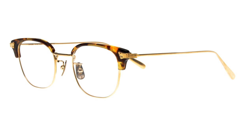 Oh My Glasses TOKYO Roy omg-109-DM-48 [メタル/鯖江産/ウェリントン/べっ甲柄]  1