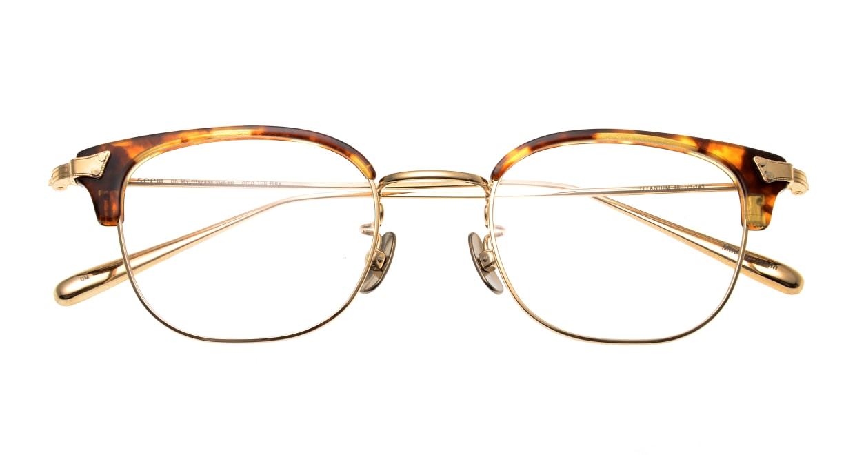 seem Oh My Glasses TOKYO Roy omg-109-DM-48 [メタル/鯖江産/ウェリントン/べっ甲柄]  4