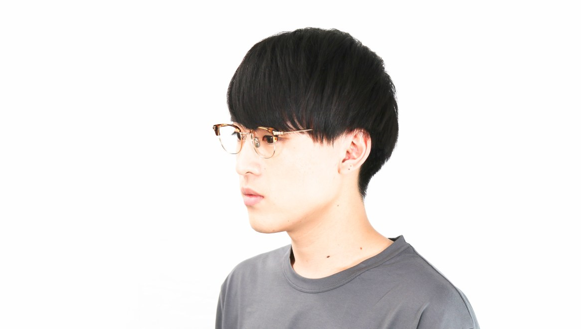 seem Oh My Glasses TOKYO Roy omg-109-DM-48 [メタル/鯖江産/ウェリントン/べっ甲柄]  6