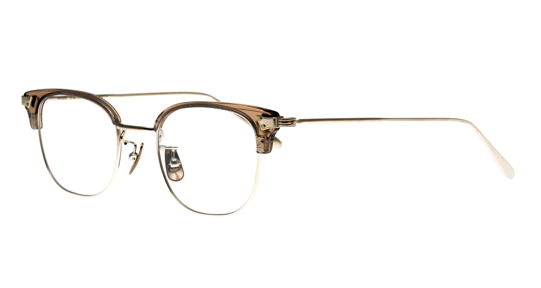 seem Oh My Glasses TOKYO Roy omg-109-GRY-48 [メタル/鯖江産/ウェリントン/グレー]  1