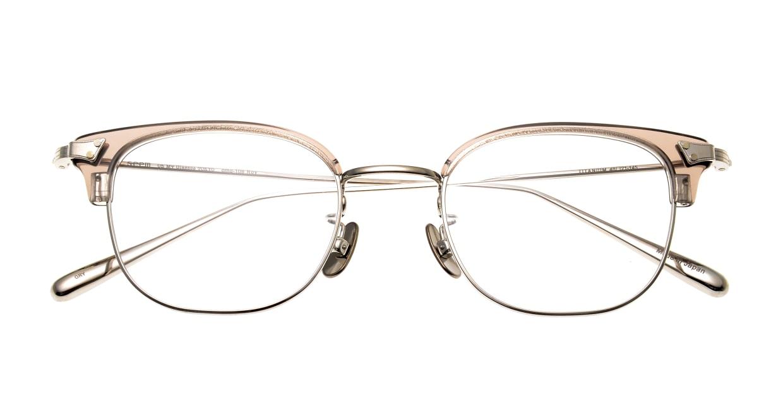 seem Oh My Glasses TOKYO Roy omg-109-GRY-48 [メタル/鯖江産/ウェリントン/グレー]  4