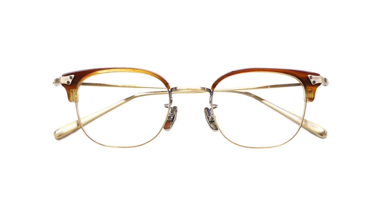 Oh My Glasses TOKYO Roy omg-109-HAV-48 [メタル/鯖江産/ウェリントン/茶色]