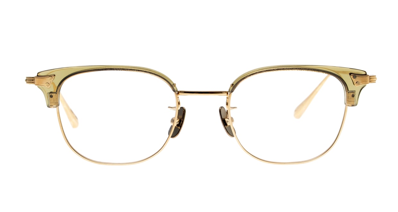 seem Oh My Glasses TOKYO Roy omg-109-OL-48 [メタル/鯖江産/ウェリントン/透明]
