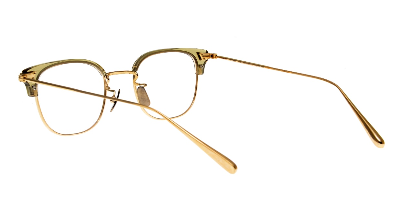 seem Oh My Glasses TOKYO Roy omg-109-OL-48 [メタル/鯖江産/ウェリントン/透明]  3