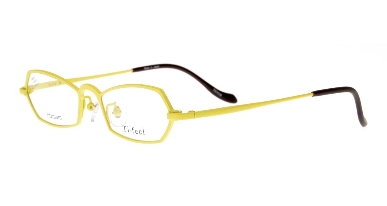 ティフィール TENOR-90-48 [メタル/鯖江産/スクエア/黄色]  1