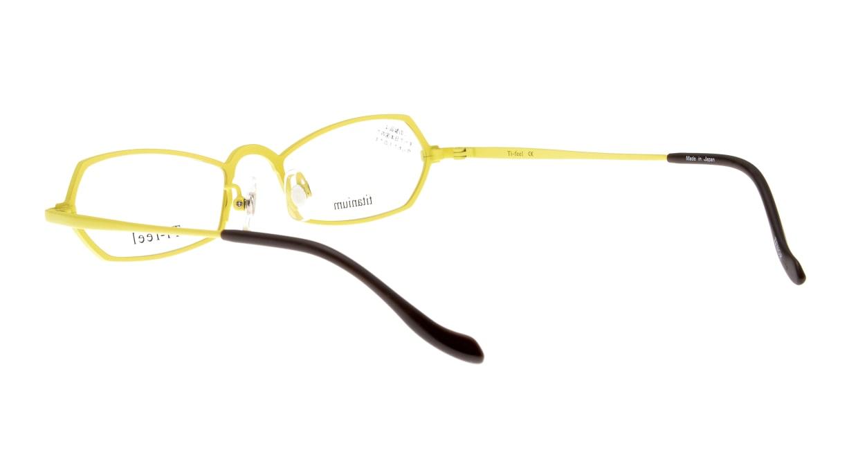 ティフィール TENOR-90-48 [メタル/鯖江産/スクエア/黄色]  3