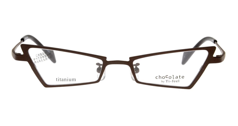 ティフィールCHAMI-7-49 [メタル/鯖江産/フォックス/茶色]