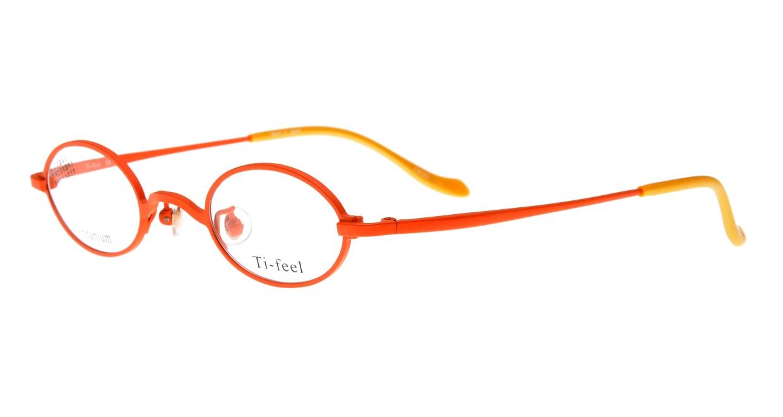 ティフィール CHAO-5-41 [メタル/鯖江産/オーバル/オレンジ]  1