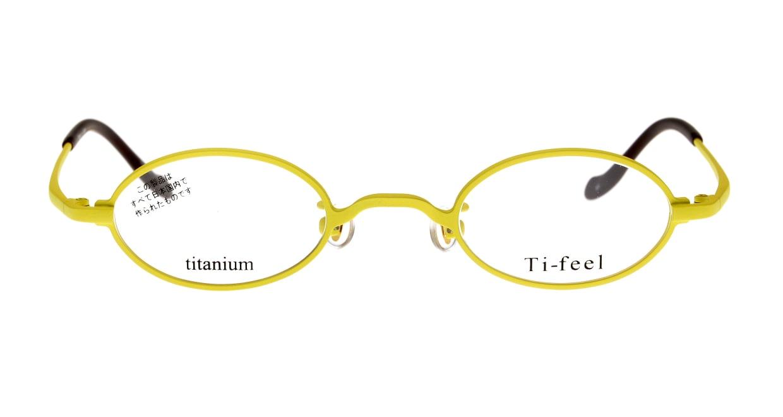 ティフィール CHAO-90-41 [メタル/鯖江産/オーバル/黄色]