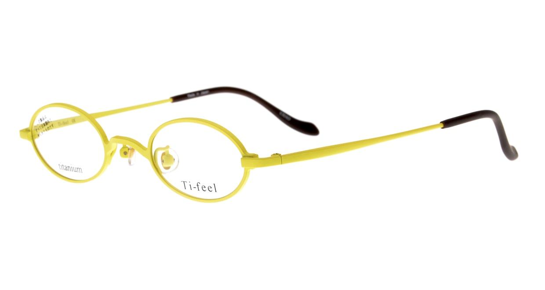 ティフィール CHAO-90-41 [メタル/鯖江産/オーバル/黄色]  1
