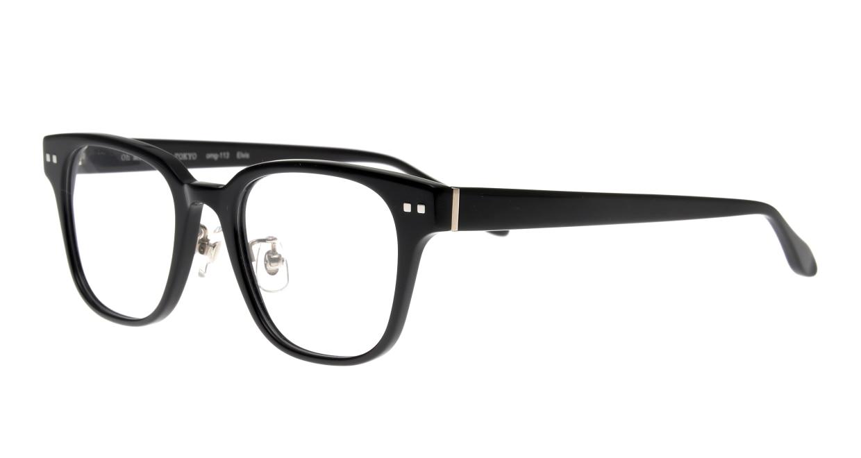 Oh My Glasses TOKYO Elvis omg-113-BK-49 [黒縁/鯖江産/ウェリントン]  1