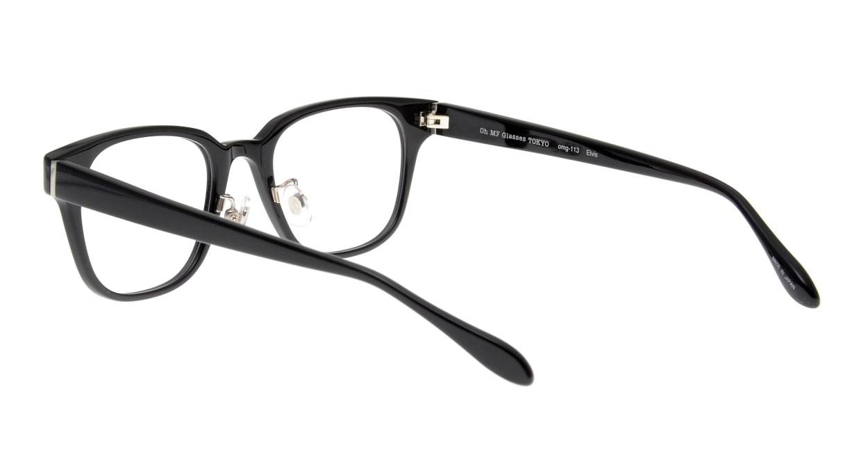 Oh My Glasses TOKYO Elvis omg-113-BK-49 [黒縁/鯖江産/ウェリントン]  3
