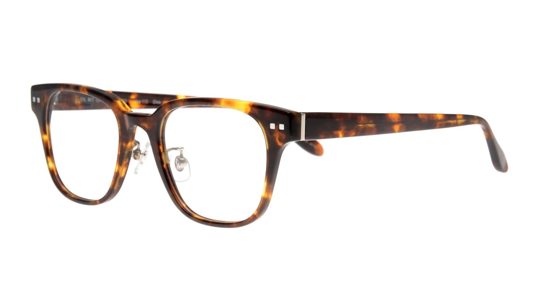 Oh My Glasses TOKYO Elvis omg-113-DM-49 [鯖江産/ウェリントン/べっ甲柄]  1