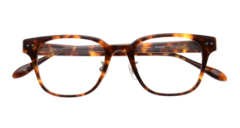 Oh My Glasses TOKYO Elvis omg-113-DM-49 [鯖江産/ウェリントン/べっ甲柄]  4