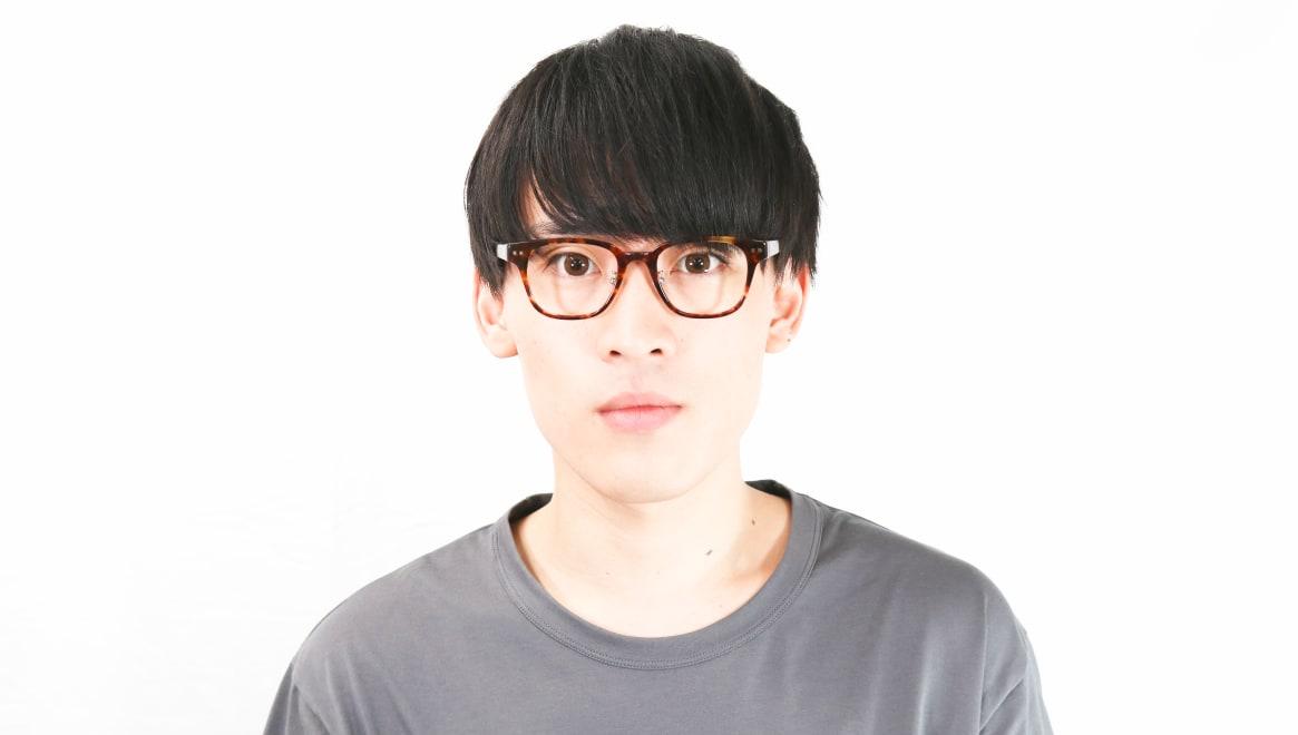 Oh My Glasses TOKYO Elvis omg-113-DM-49 [鯖江産/ウェリントン/べっ甲柄]  5