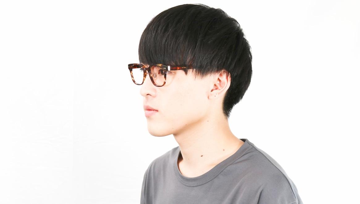 Oh My Glasses TOKYO Elvis omg-113-DM-49 [鯖江産/ウェリントン/べっ甲柄]  6