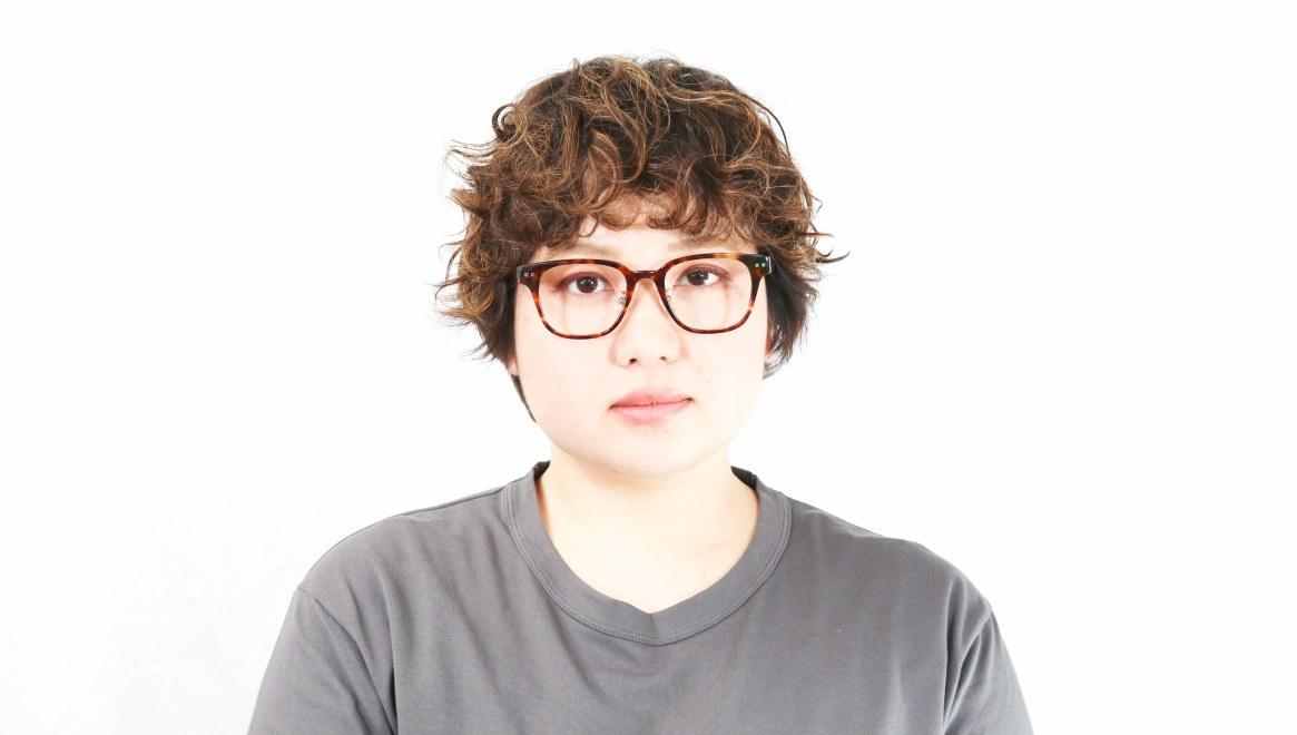 Oh My Glasses TOKYO Elvis omg-113-DM-49 [鯖江産/ウェリントン/べっ甲柄]  7