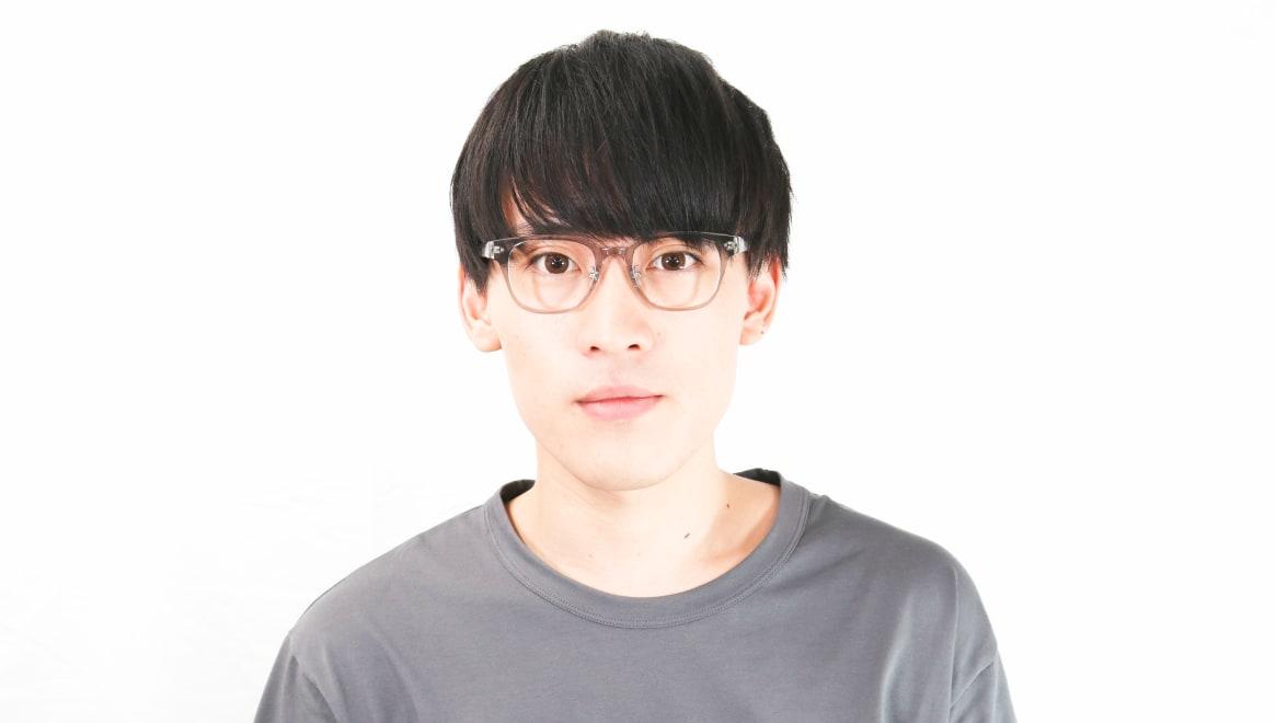 Oh My Glasses TOKYO omg-113 Elvis-GRY-49 [鯖江産/ウェリントン/グレー]  5