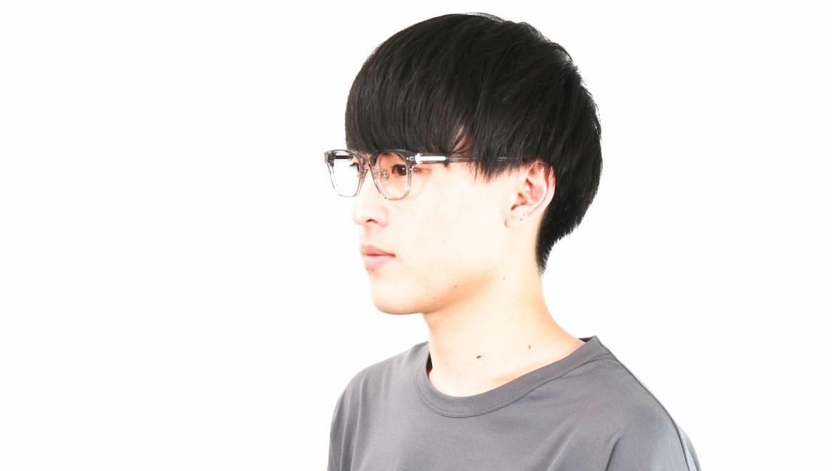 Oh My Glasses TOKYO omg-113 Elvis-GRY-49 [鯖江産/ウェリントン/グレー]  6