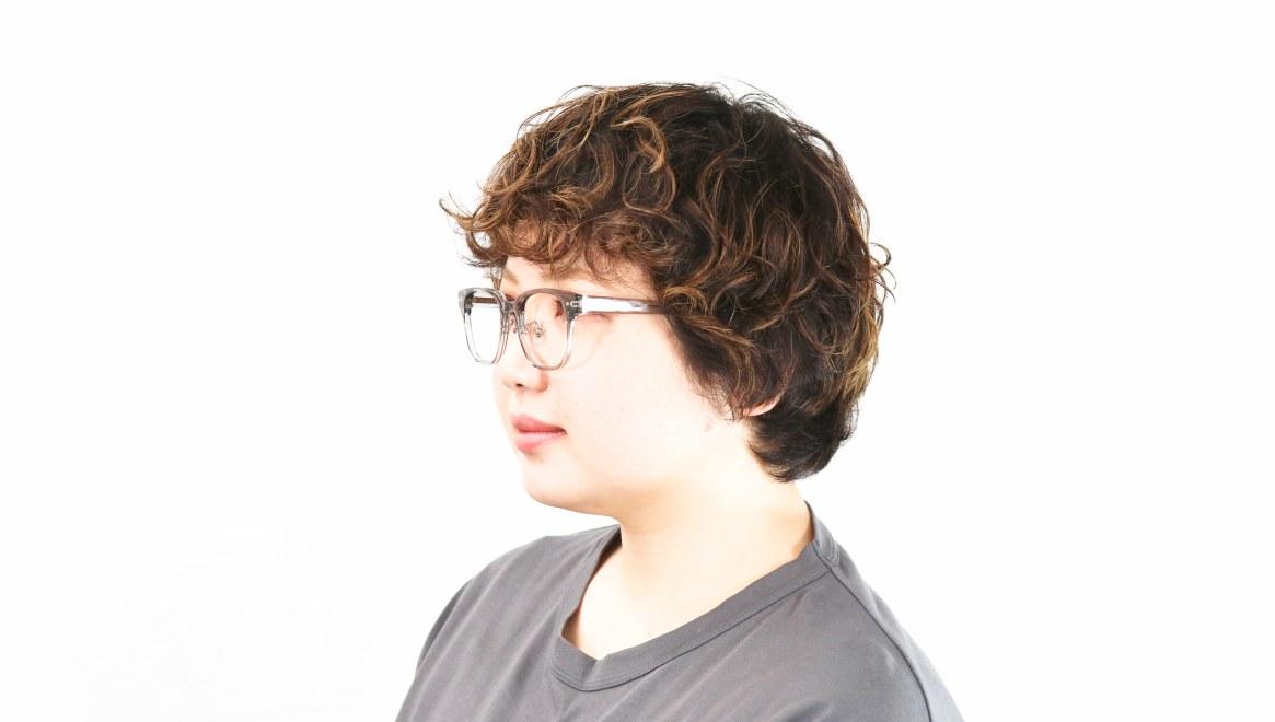 Oh My Glasses TOKYO omg-113 Elvis-GRY-49 [鯖江産/ウェリントン/グレー]  8