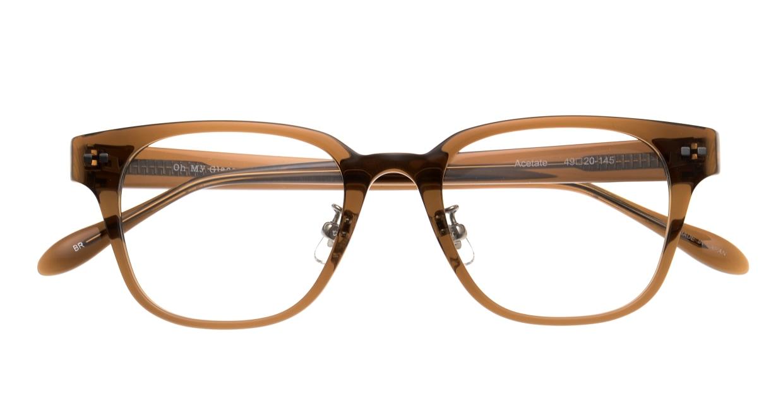 Oh My Glasses TOKYO Elvis-omg-113-BR-49 [鯖江産/ウェリントン/茶色]  4
