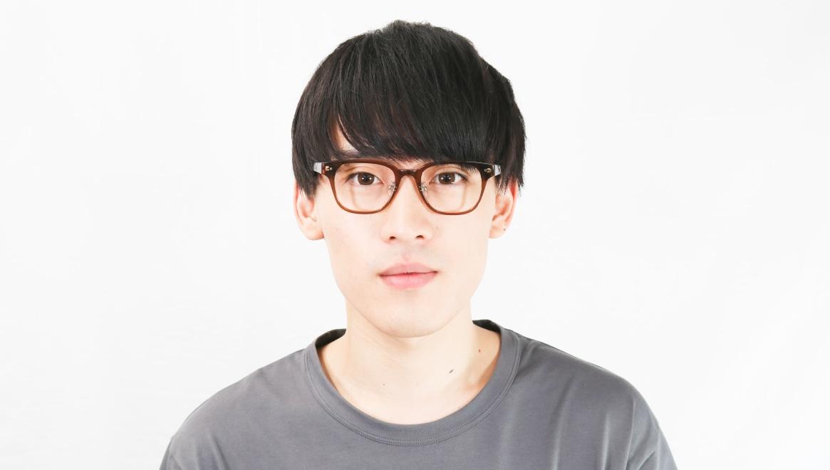 Oh My Glasses TOKYO Elvis omg-113-BR-49 [鯖江産/ウェリントン/茶色]  5