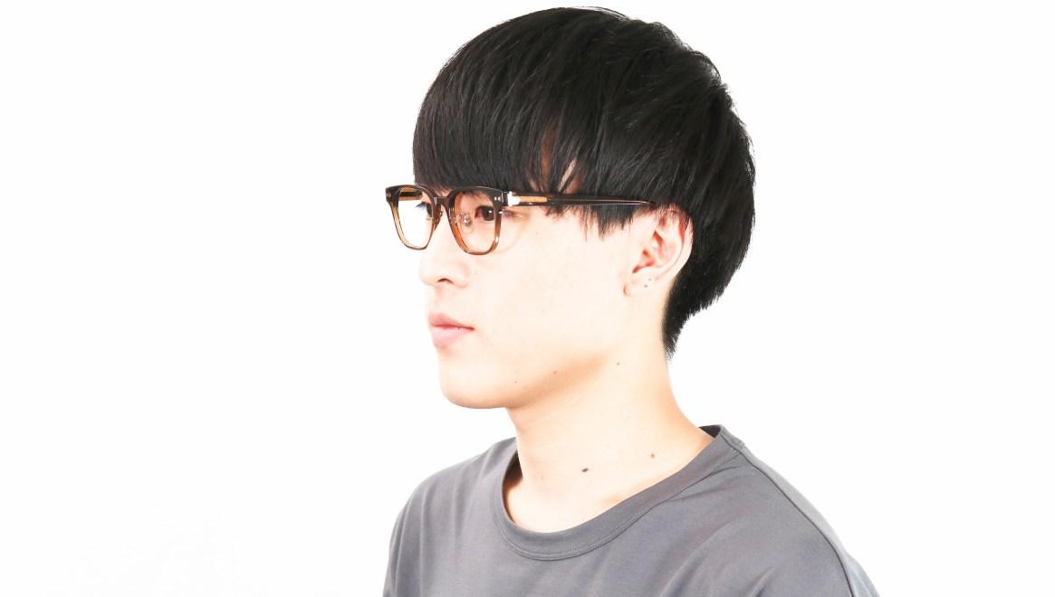 Oh My Glasses TOKYO Elvis omg-113-BR-49 [鯖江産/ウェリントン/茶色]  6