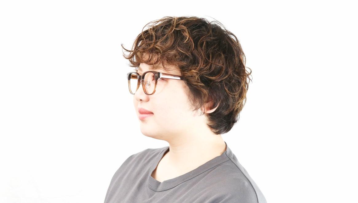 Oh My Glasses TOKYO Elvis omg-113-BR-49 [鯖江産/ウェリントン/茶色]  8