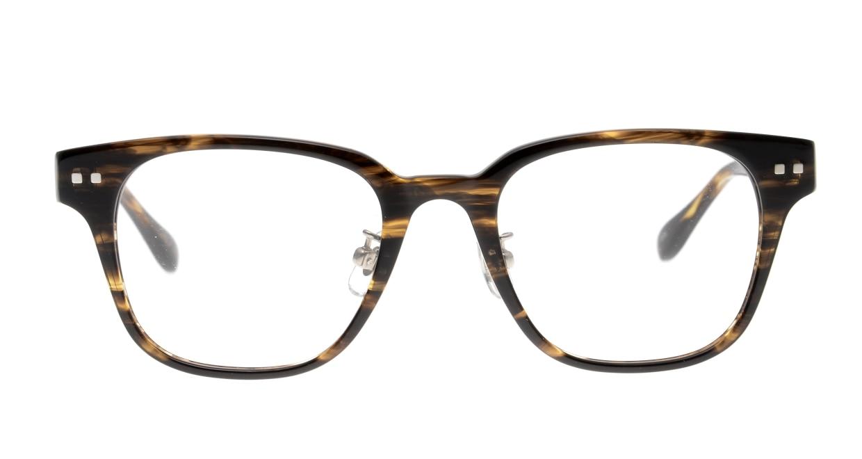 Oh My Glasses TOKYO Elvis omg-113-BRB-49 [鯖江産/ウェリントン/茶色]