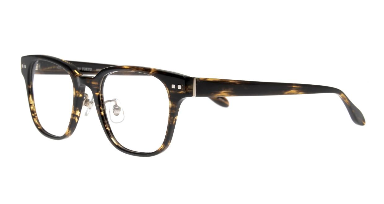 Oh My Glasses TOKYO Elvis omg-113-BRB-49 [鯖江産/ウェリントン/茶色]  1