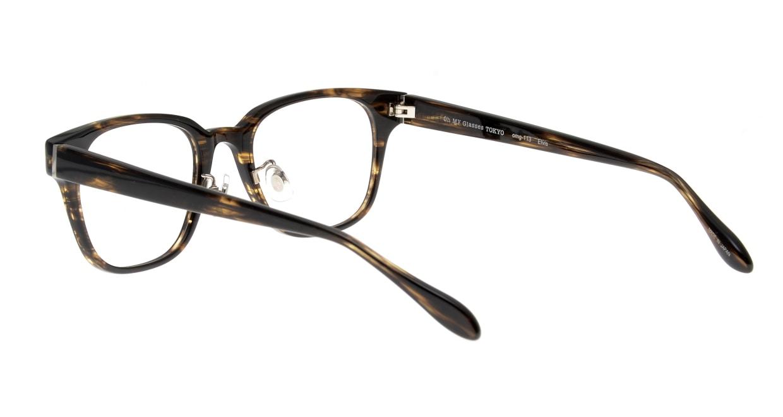 Oh My Glasses TOKYO Elvis omg-113-BRB-49 [鯖江産/ウェリントン/茶色]  3