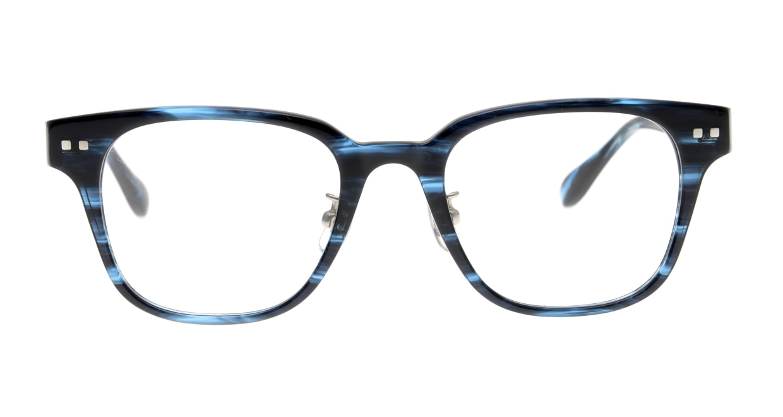 Oh My Glasses TOKYO Elvis-omg-113-BLB-49 [鯖江産/ウェリントン/青]