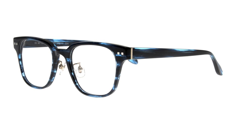 Oh My Glasses TOKYO Elvis omg-113-BLB-49 [鯖江産/ウェリントン/青]  1