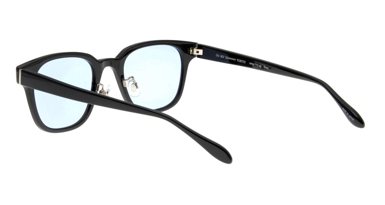 Oh My Glasses TOKYO Elvis omg-113-BK-51-sg [鯖江産/ウェリントン]  3