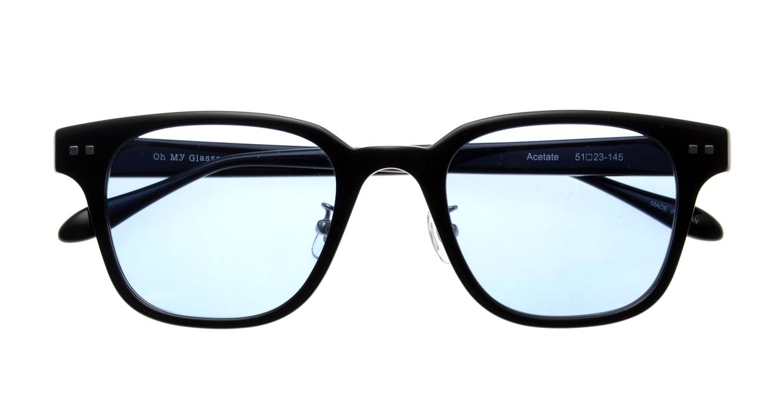Oh My Glasses TOKYO Elvisーomg-113sg-BK-51 [鯖江産/ウェリントン]  4