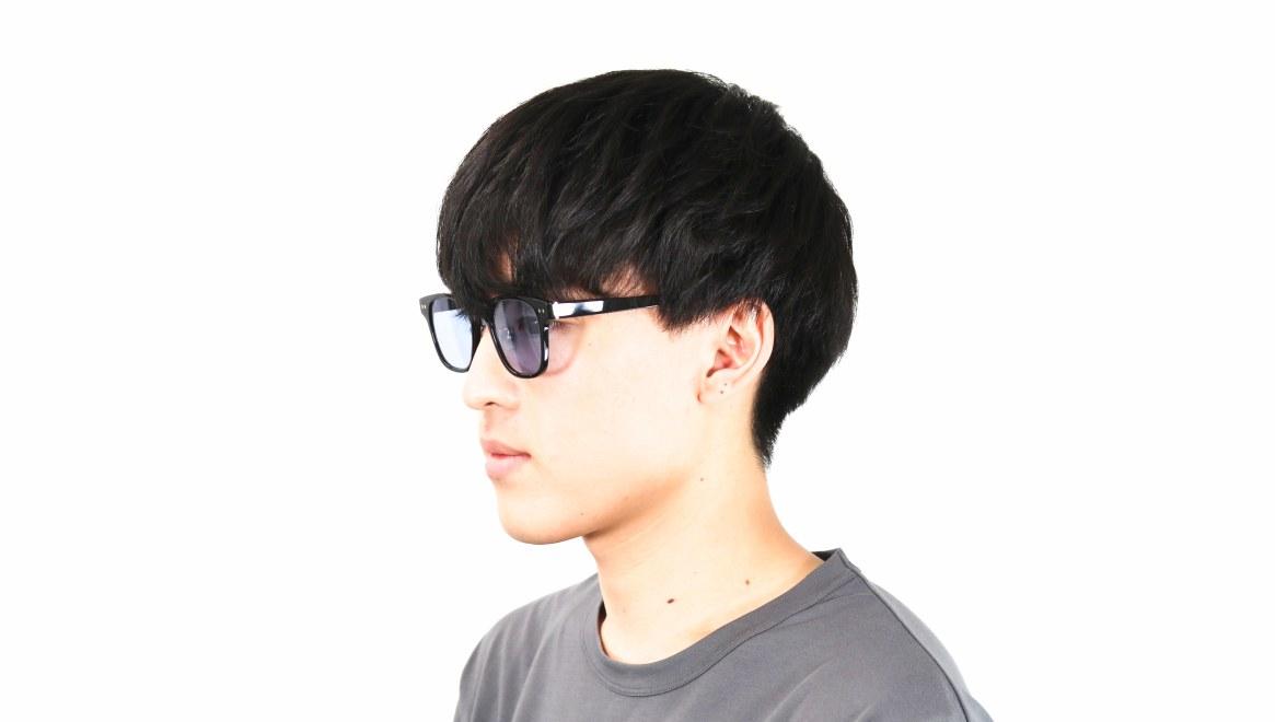 Oh My Glasses TOKYO Elvis omg-113-BK-51-sg [鯖江産/ウェリントン]  6