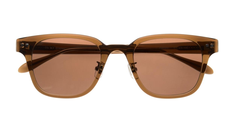 Oh My Glasses TOKYOomg-113sg-BR-51-Elvis [鯖江産/ウェリントン]  4
