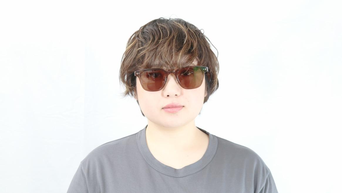 Oh My Glasses TOKYO Elvis omg-113-BR-51-sg [鯖江産/ウェリントン]  7