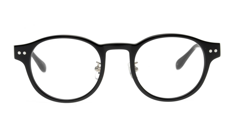 Oh My Glasses TOKYO omg-114 Doris-BK-48 [黒縁/鯖江産/丸メガネ]