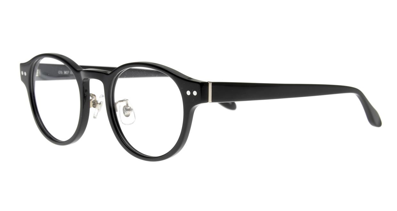 Oh My Glasses TOKYO omg-114 Doris-BK-48 [黒縁/鯖江産/丸メガネ]  1