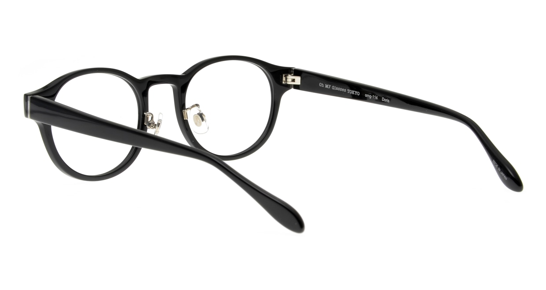 Oh My Glasses TOKYO omg-114 Doris-BK-48 [黒縁/鯖江産/丸メガネ]  3