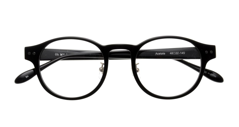 Oh My Glasses TOKYO omg-114 Doris-BK-48 [黒縁/鯖江産/丸メガネ]  4