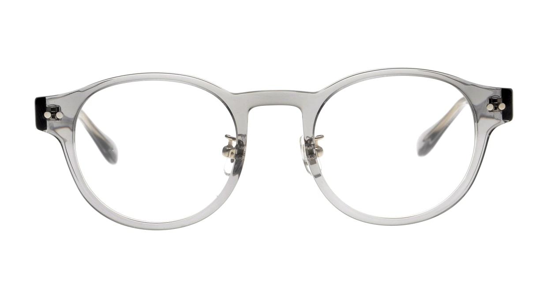 Oh My Glasses TOKYO omg-114 Doris-GRY-48 [鯖江産/丸メガネ/グレー]