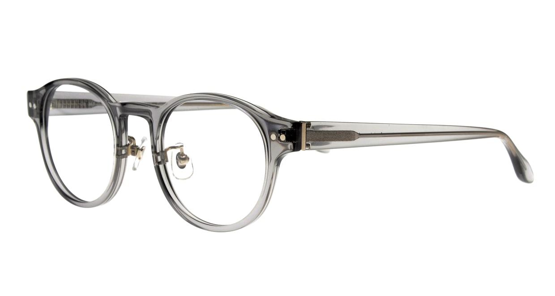 Oh My Glasses TOKYO omg-114 Doris-GRY-48 [鯖江産/丸メガネ/グレー]  1