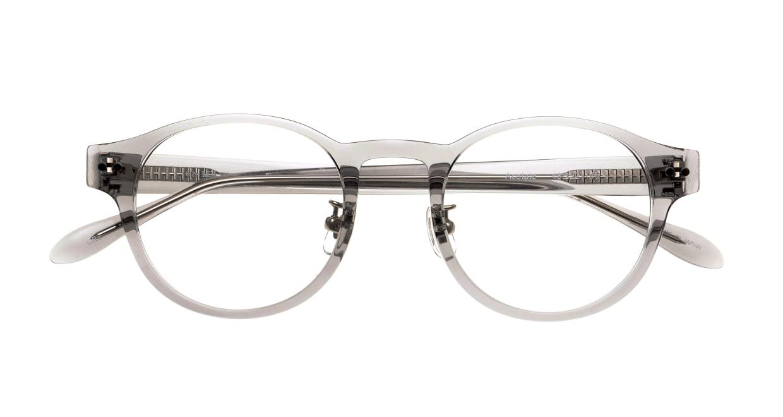 Oh My Glasses TOKYO omg-114 Doris-GRY-48 [鯖江産/丸メガネ/グレー]  4