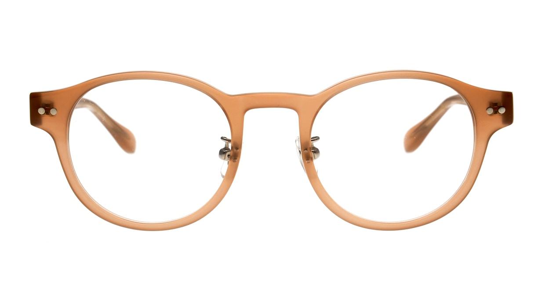 Oh My Glasses TOKYO omg-114 Doris-BE-48 [日本製・鯖江産/丸メガネ/肌色]
