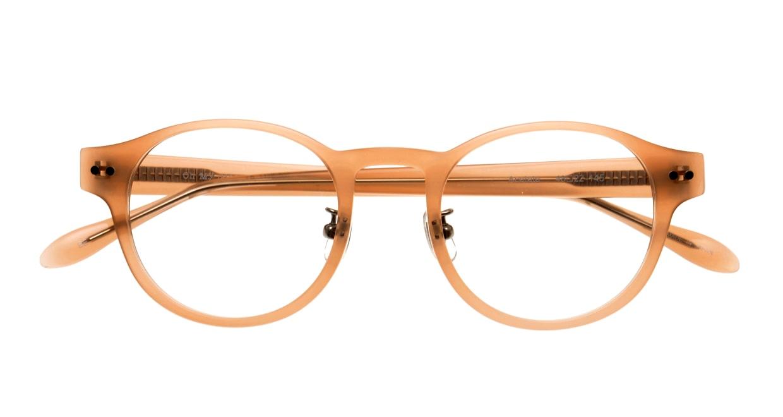 Oh My Glasses TOKYO omg-114 Doris-BE-48 [日本製・鯖江産/丸メガネ/肌色]  4