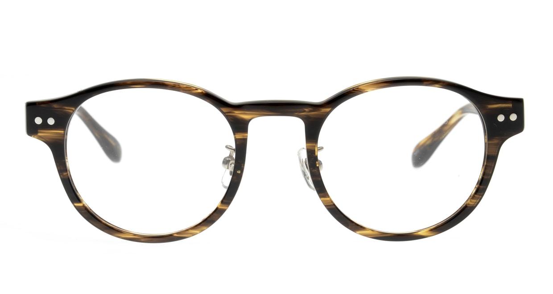 Oh My Glasses TOKYO Doris omg-114-BRB-48 [鯖江産/丸メガネ/茶色]