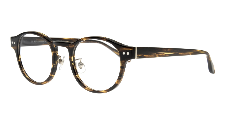 Oh My Glasses TOKYO Doris omg-114-BRB-48 [鯖江産/丸メガネ/茶色]  1